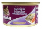 Whiskas Mackerel & Sardines Cat Canned Food